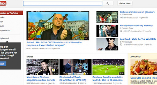 YouTube: la condivisione video cambia faccia